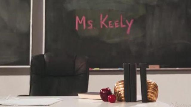Nauczycielka karze uczennicę