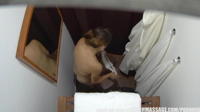Ukryta kamera w salonie masażu