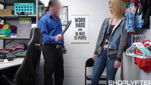 Spermowa kara dla nieletniej złodziejki